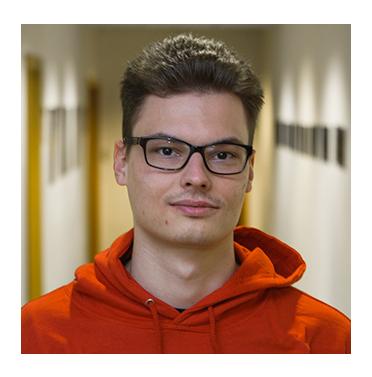 Dávid Bernát, reprezentant Fakulty informatiky PEVŠ