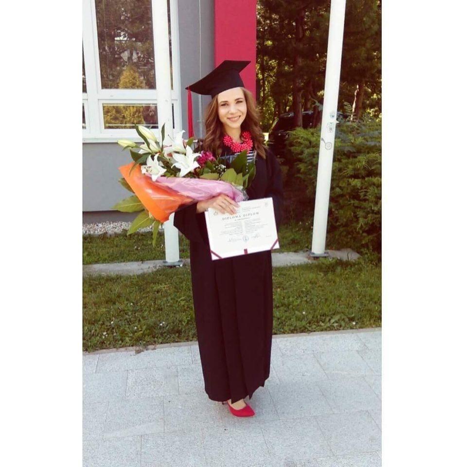 Anita Murinčáková, absolventka Fakulty masmédií PEVŠ
