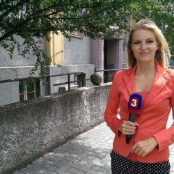 Hana Džurná, absolventka Fakulty masmédií PEVŠ, redaktorka TA3