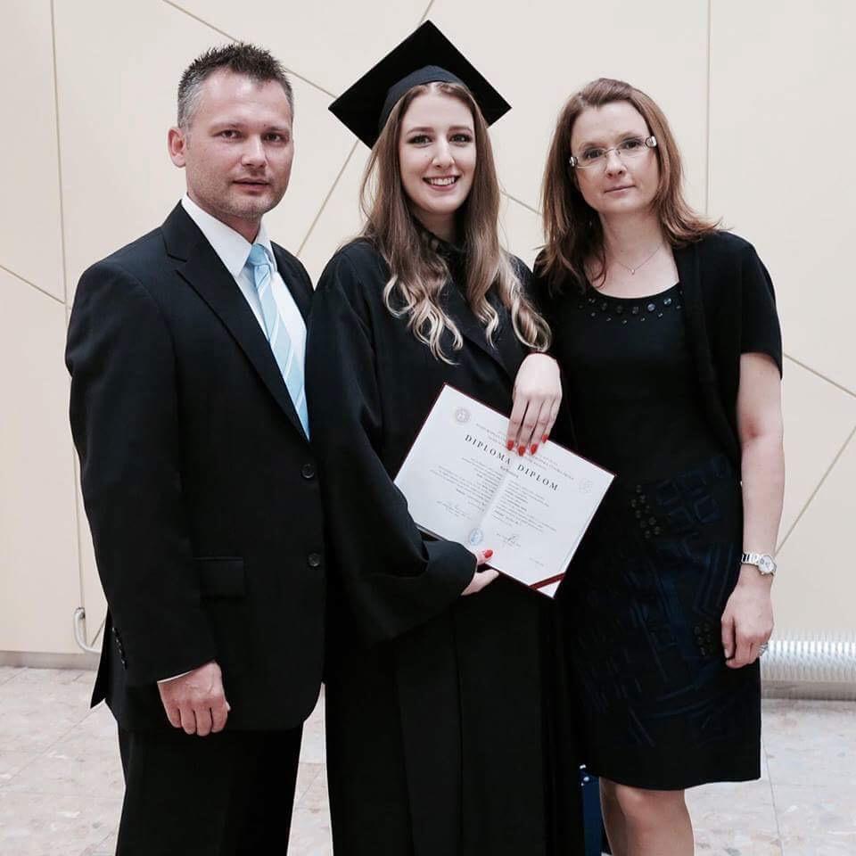 Ria Bridová, absolventka Fakulty masmédií PEVŠ