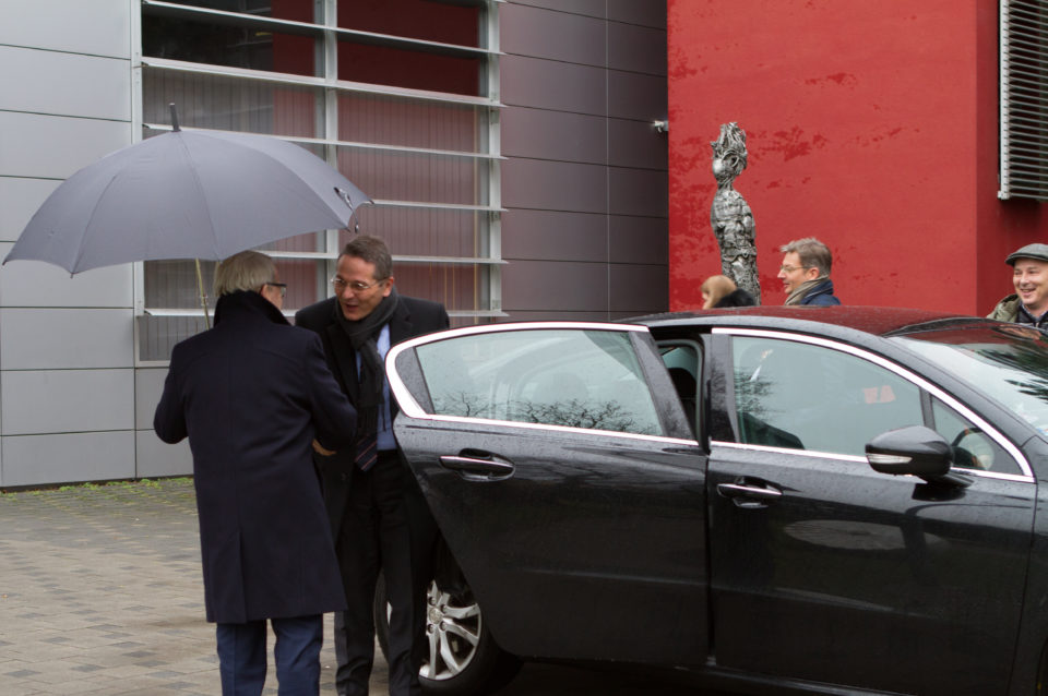 Rektor PEVS prof. Juraj Stern privítal veľvýslanca Francúzskej republiky