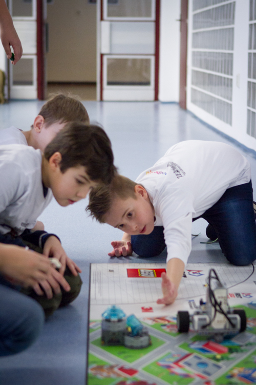 FIRST Lego League na Fakulte informatiky PEVŠ