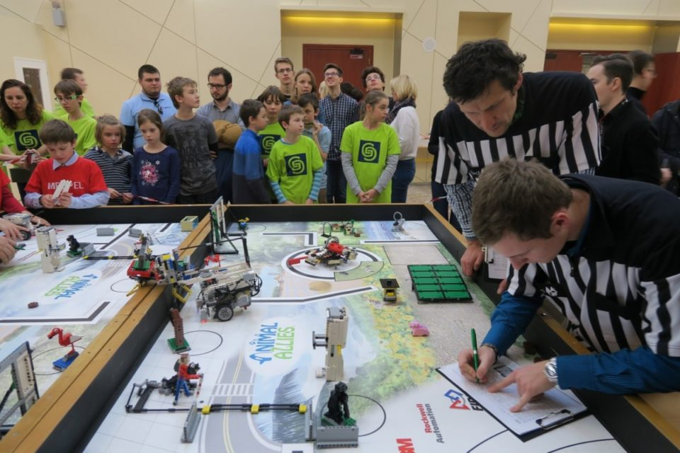First Lego League na PEVS