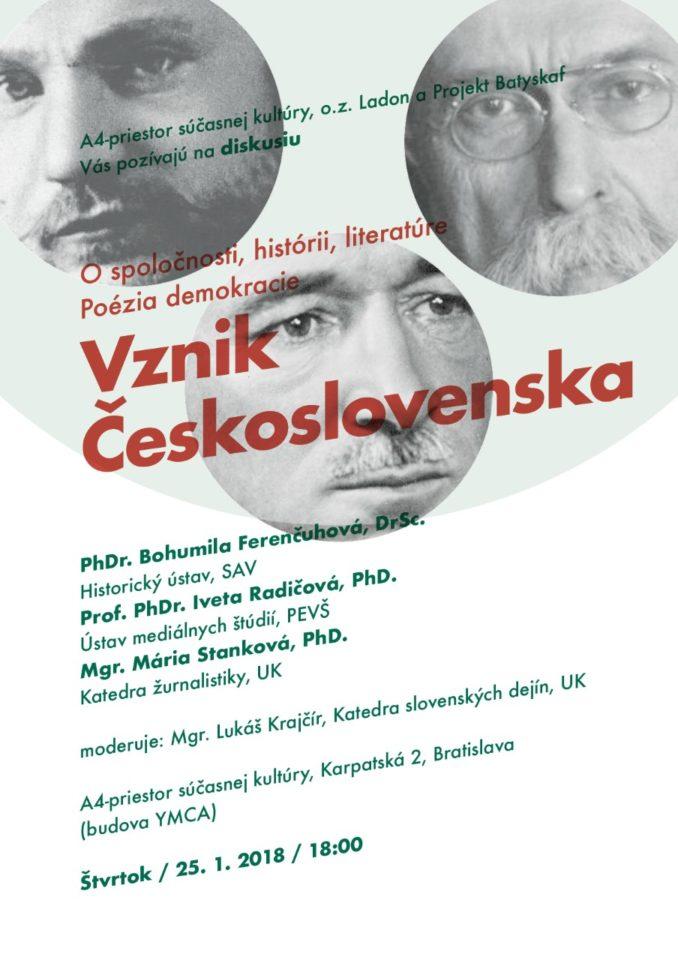 vznik československa_diskusia_radičová_PEVŠ