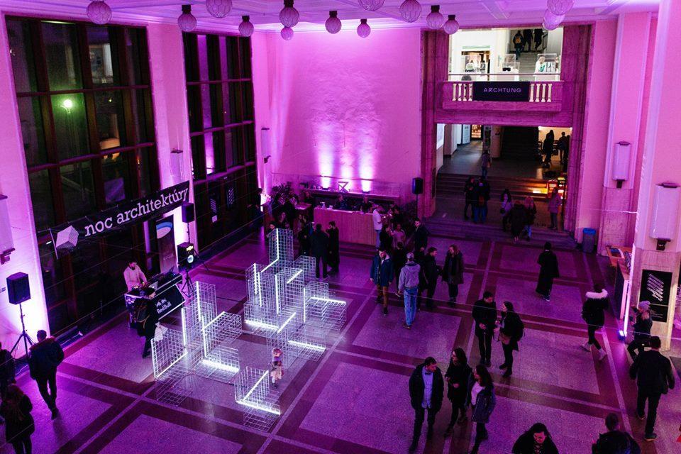 Študenti Fakulty masmédií PEVŠ sa postarali opriamy prenos podujatia Noc architektúry 2018