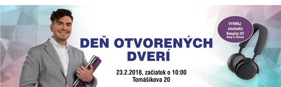Deň otvorených dverí, 23.2. o 10:00