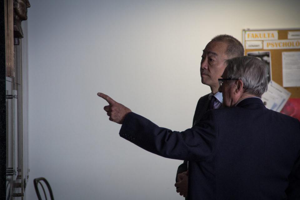 Japonsky veľvyslanec navštívil PEVŠ