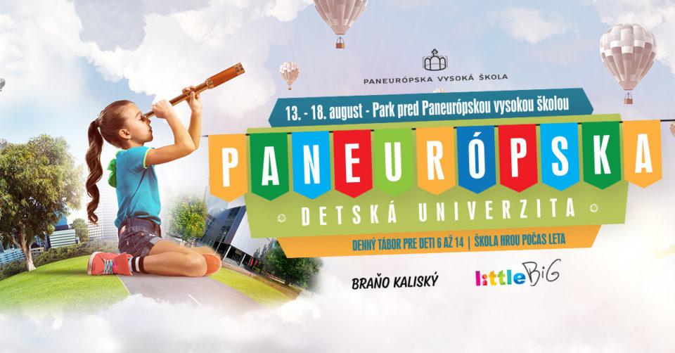 Paneurópska detská univerzita vaše deti naučí aj zabaví