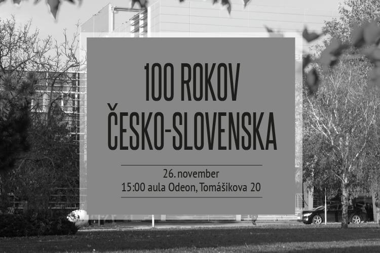 Prednáška o 100. výročí Česko-Slovenska z pohľadu historika Dušana Kováča