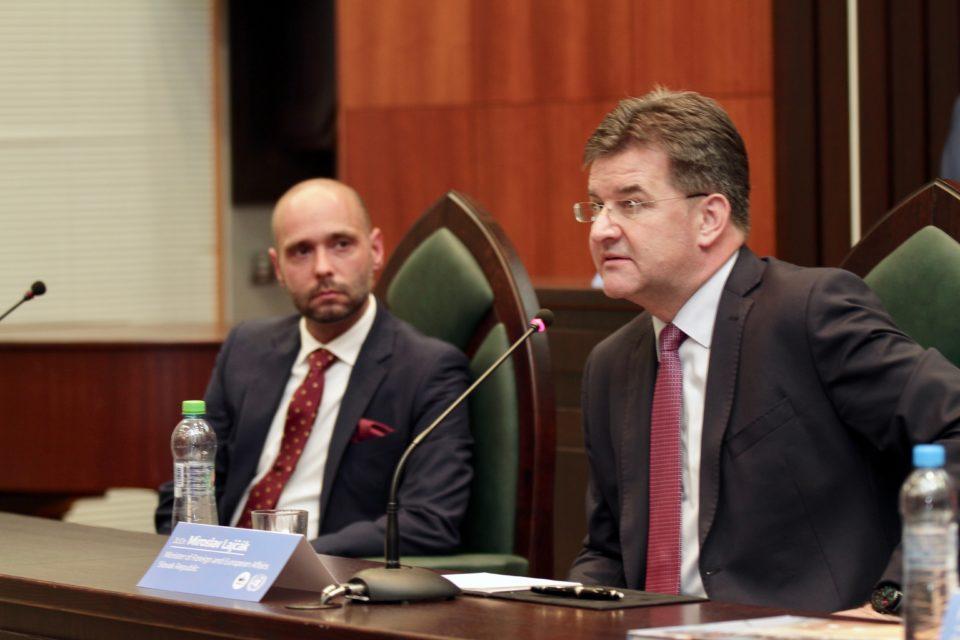 Minister Lajčák prejavil záujem spolupracovať s PEVŠ