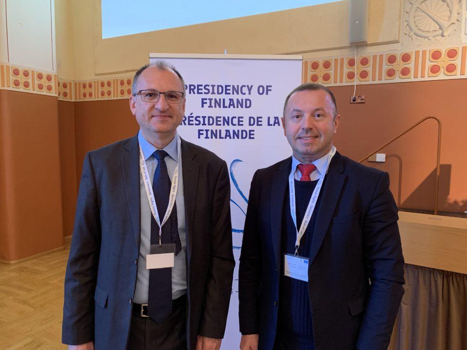 Prorektor PEVŠ, prof. Hajduk zastupuje SR na konferencii EPAN v Helsinkách