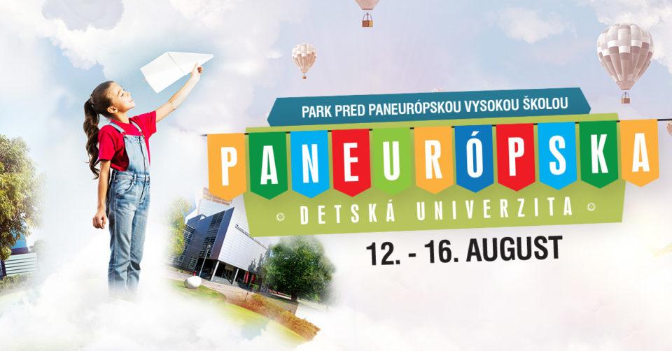 Denný tábor na akademickej pôde – Paneurópska detská univerzita