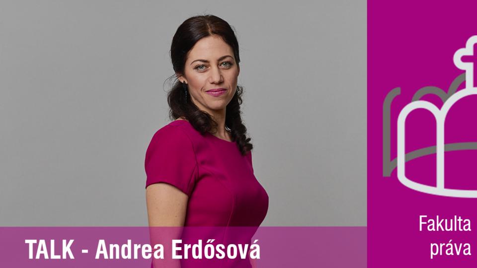 Je dôležité, aby sa študenti práva stretávali s úspešnými právnikmi – prodekanka Fakulty práva PEVŠ, JUDr. Andrea Erdősová, PhD.