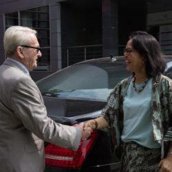 Návšteva indonézskej vyľvyslankyne na PEVŠ