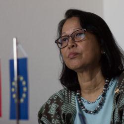 Indonézska vyľvyslankyňa na PEVŠ