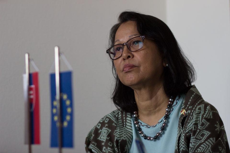 Indonézska veľvyslankyňa navštívila PEVŠ