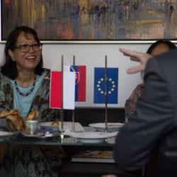 Rektor PEVŠ, Juraj Stern a indonézska veľvyslankyňa