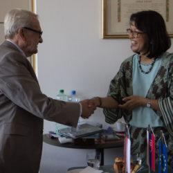 Indonézska veľvyslankyňa a darček pre PEVŠ