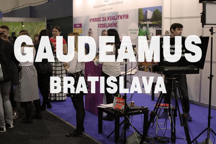 Pozvánka na Gaudeamus – Akadémia Bratislava 2019