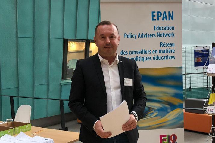 Prorektor PEVŠ Ľudovít Hajduk sa zúčastnil na 5. schôdzi EPAN v Štrasburgu