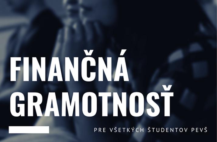 Pozvánka na sériu prednášok o finančnej gramotnosti