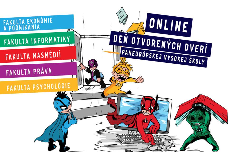 , Online Deň otvorených dverí na PEVŠ 2020/21