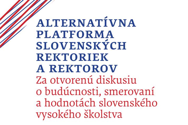 Vznik nezávislej platformy slovenských rektoriek arektorov